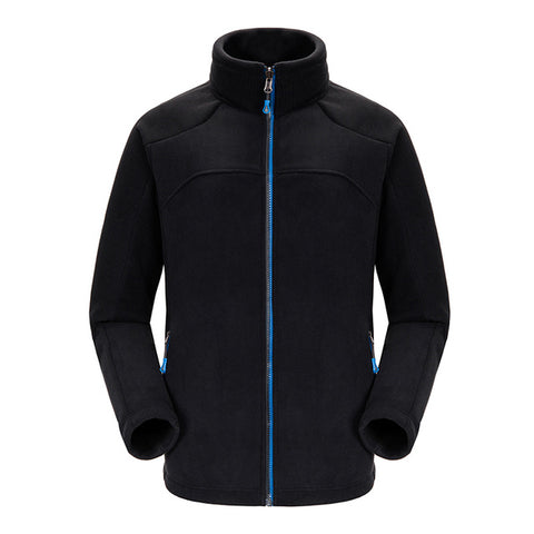 Fleece Camping Jacket Thicken Thermal