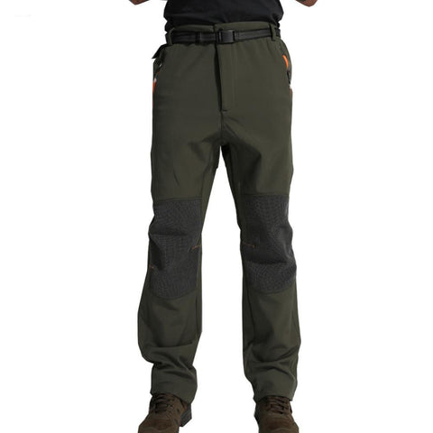 Fleece Camping Softshell Pants