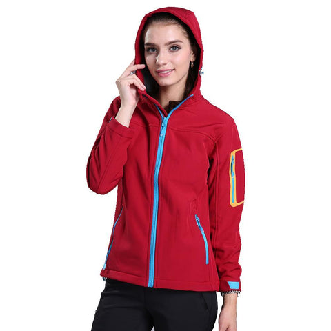 Single Layer Trekking Softshell Jacket
