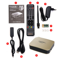 Promotion Tigerstar i500hyper with two one year subscriptions Royal TV and Empire TV - GreatBee