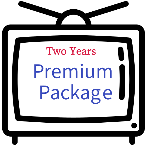 60+ VIP channels MBC iraq ART series included Two Years Plus+ Premium Package - GreatBee