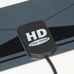 Digital TV Antenna Multi Directional HD Flat Design High Gain HD/UHF TV Box - GreatBee