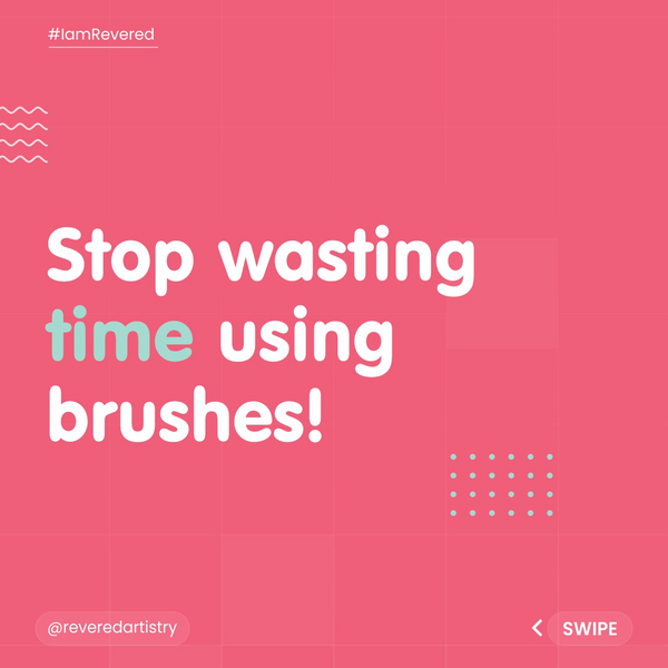 Stop wasting time on makeup brushes!