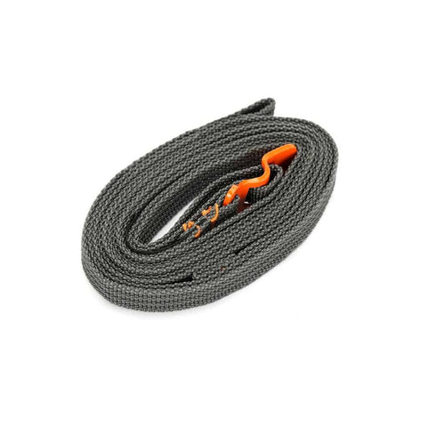 Utility Tie Down Accessory Strap with Hook Release - Orange - 2.5m