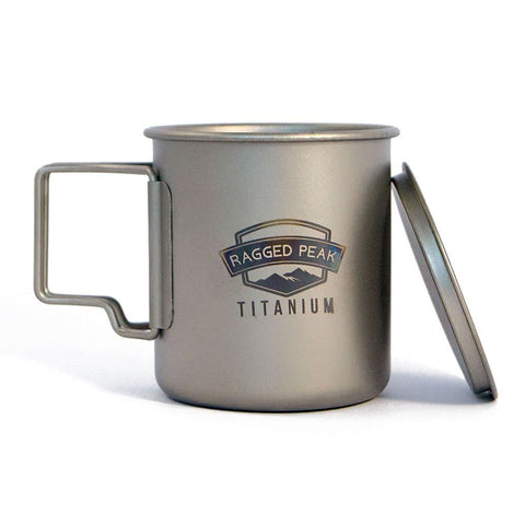 Ragged Peak Titanium Mug - 450ml