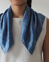 SOJOURNER - Silk-Cotton Bandana - Harvester