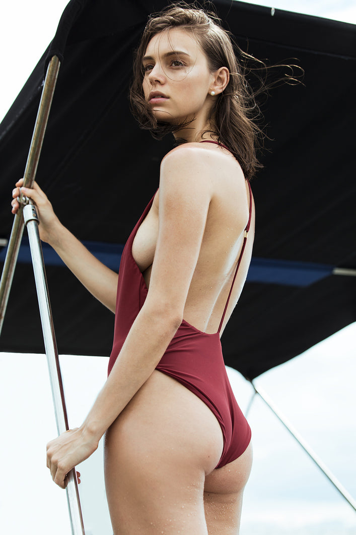 POPPY MAILLOT (Ruby)