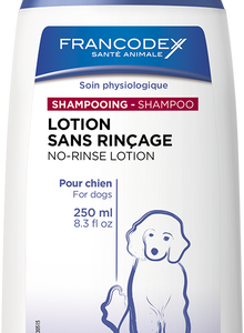 Francodex No Rinse Shampoo Lotion 250ml, The Dogs Stuff