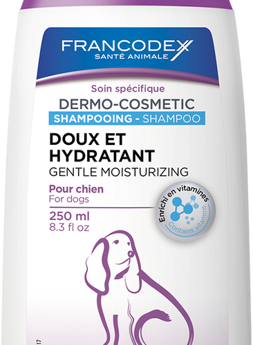 Francodex Gentle Moisturizing Shampoo 250ml, The Dogs Stuff