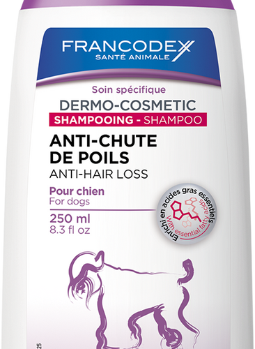 Francodex Anti Hair Loss Shampoo 250ml, The Dogs Stuff