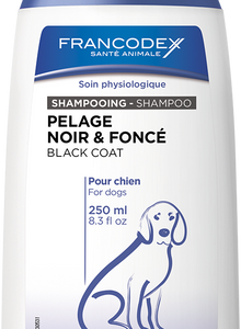 Francodex Black Coat Shampoo 250ml, The Dogs Stuff