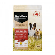 Blackhawk Adult Grain Free Kangaroo, The Dogs Stuff
