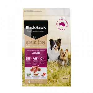 Blackhawk Adult Grain Free Lamb, The Dogs Stuff