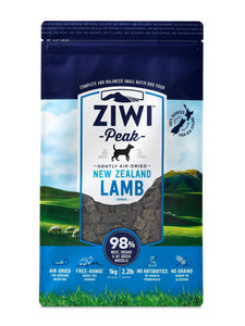 Ziwi Peak Air Dried Lamb for Dogs, The Dogs Stuff