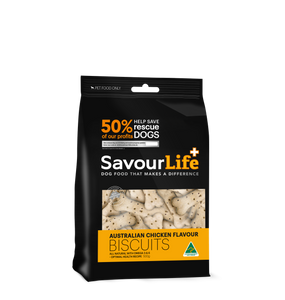 Savourlife Australian Chicken Flavour Biscuits 500g, The Dogs Stuff