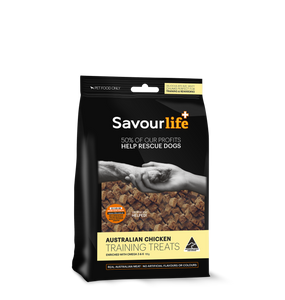 Savourlife Australian Chicken Training Treats 165g, The Dogs Stuff