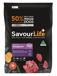 Savourlife Healthsource Superfood Grain-Free Kangaroo 2.5kg, The Dogs Stuff