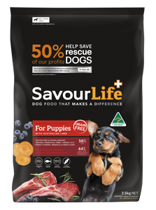 Savourlife Healthsource Superfood Grain-Free for Puppies 2.5kg, The Dogs Stuff