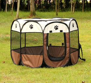 Portable Folding Dog Tent, The Dogs Stuff