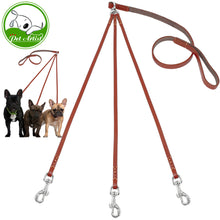 Triple Dog Leash - Leather, The Dogs Stuff