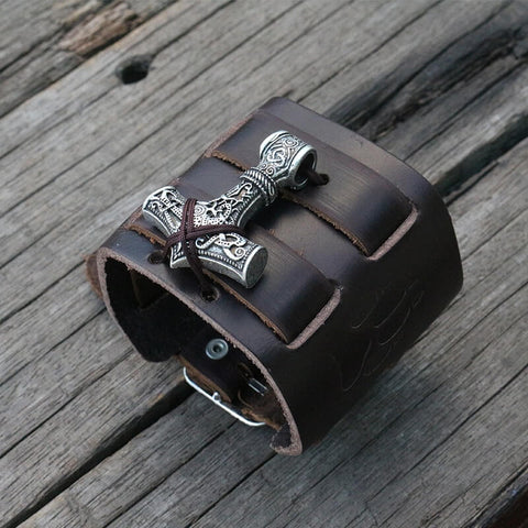 Hammer Leather Cuff
