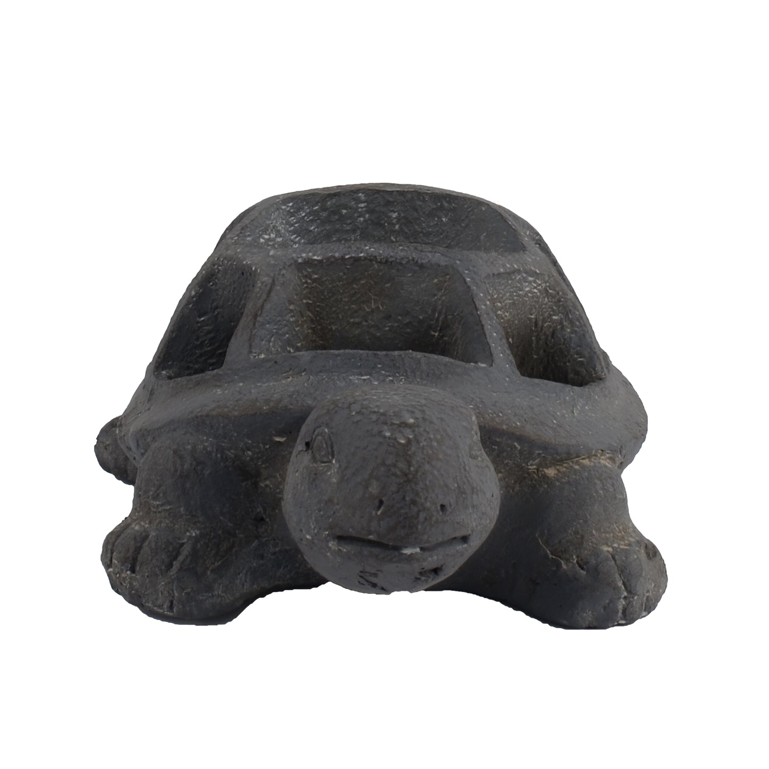 Solstice Sculptures Tortoise Planter 15cm Blue Iron Effect - Ruby's Garden Boutique