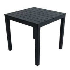 Trabella Roma Square Garden Table Anthracite - Ruby's Garden Boutique