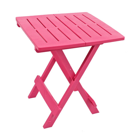 Trabella Bari Garden Patio Side Table Pink - Ruby's Garden Boutique