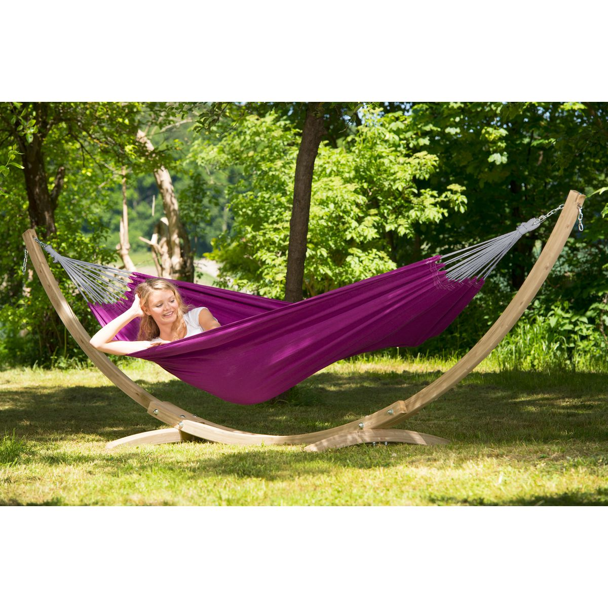 Amazonas Florida Berry Purple Hammock - Ruby's Garden Boutique