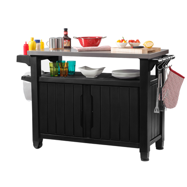 Keter Unity BBQ Table Double