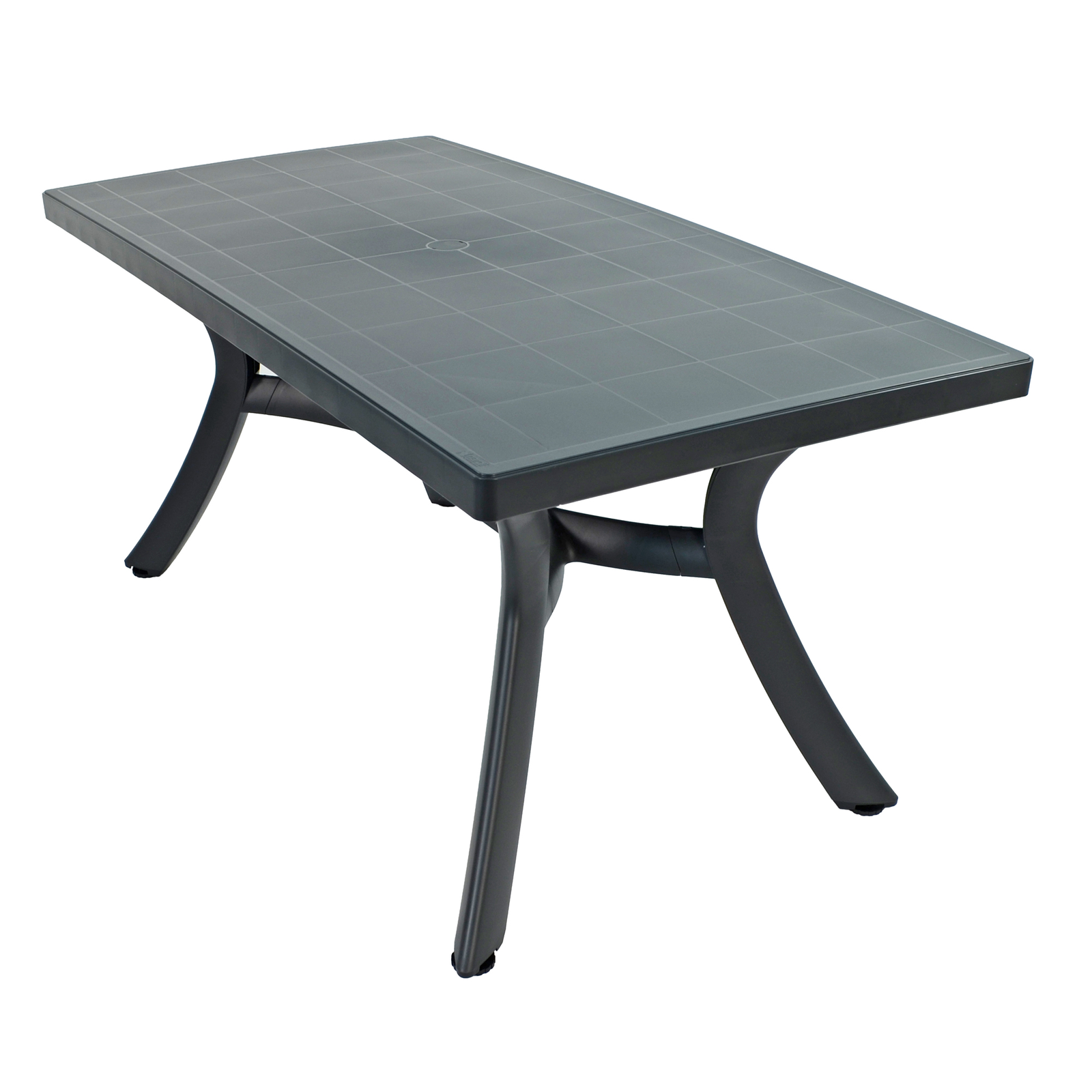 Nardi Toscana 160cm Rectangular Dining Table Anthracite