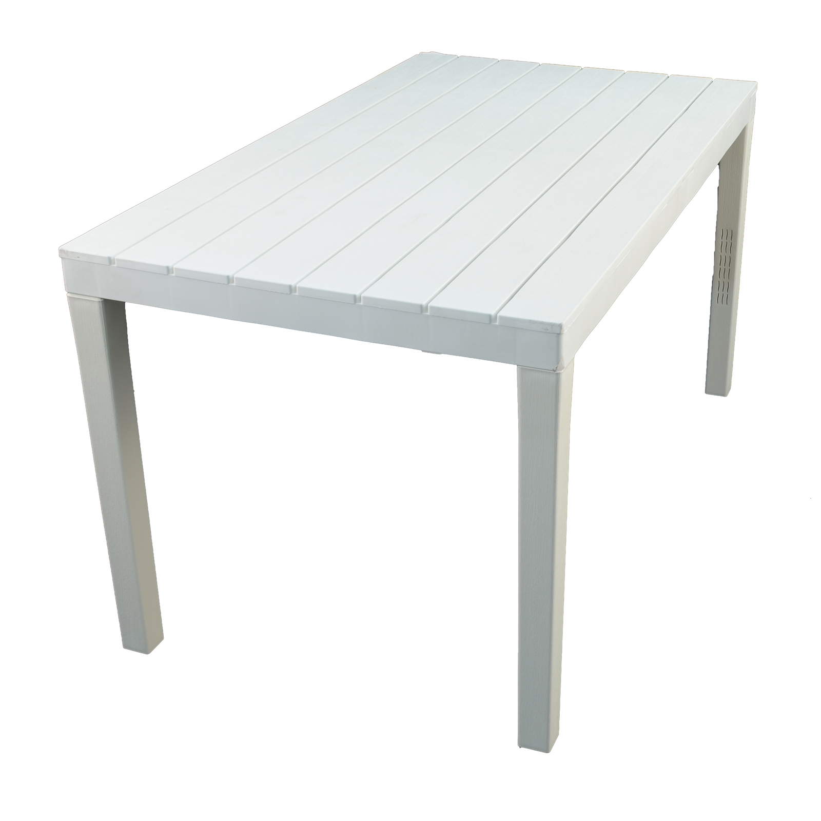Trabella Roma Rectangular Table White