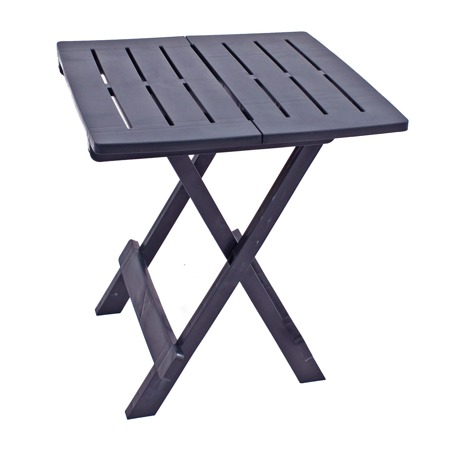 Trabella Bari Garden Patio Side Table Anthracite - Ruby's Garden Boutique