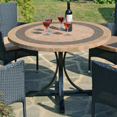 Byron Manor Vermont 110cm Dining Table - Ruby's Garden Boutique