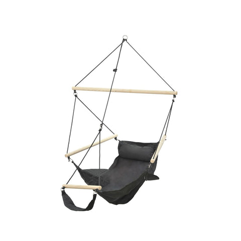 Amazonas Swinger Black Hanging Chair - Ruby's Garden Boutique