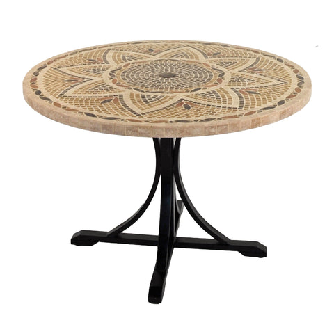 Byron Manor Montpellier 110cm Garden Dining Table - Ruby's Garden Boutique