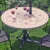 Image of Byron Manor Montpellier 110cm Garden Dining Table - Ruby's Garden Boutique