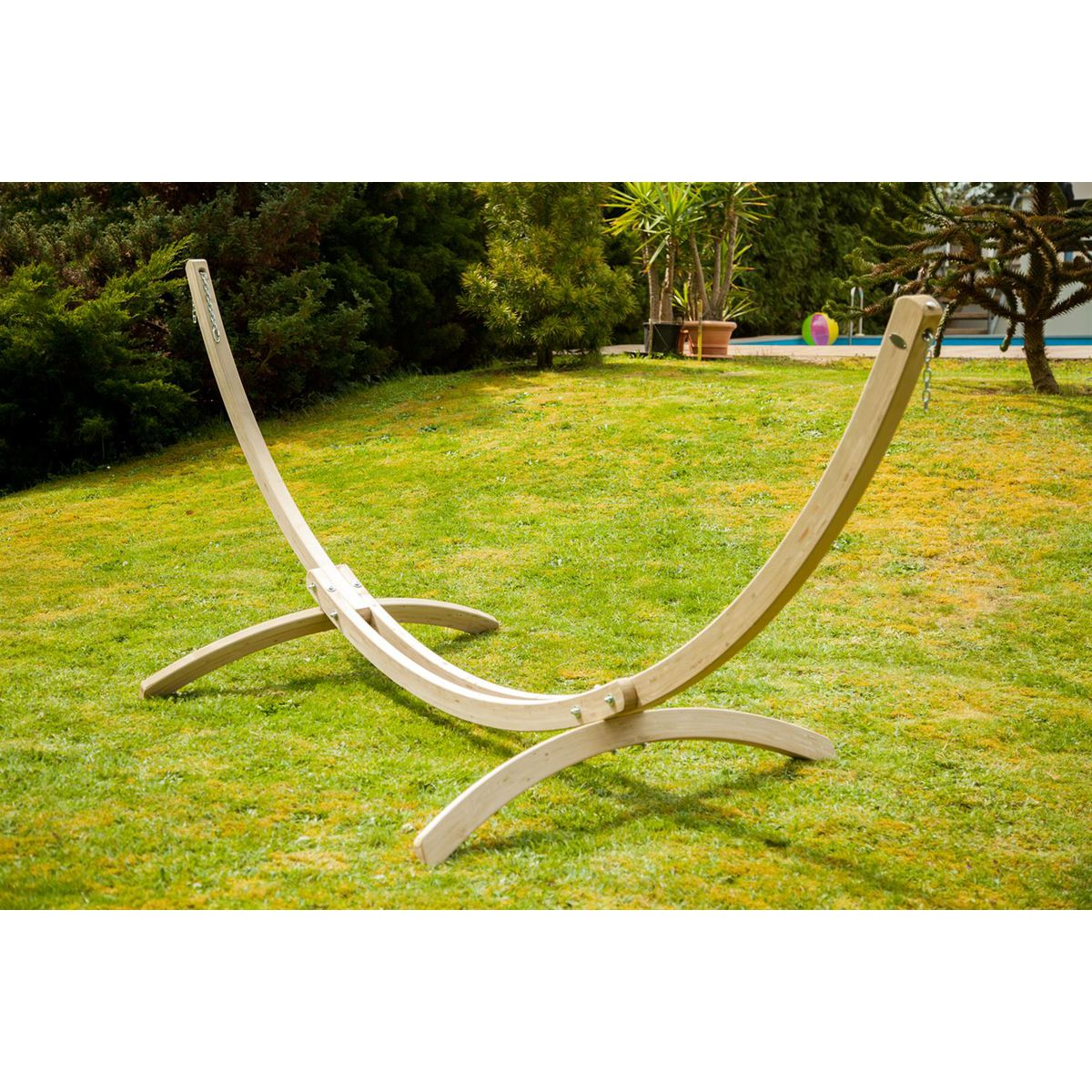 Amazonas Olymp Wooden Hammock Stand - Ruby's Garden Boutique