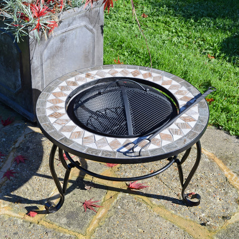 Summer Terrace Brava Fire Pit Low - Ruby's Garden Boutique