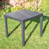 Image of Trabella Roma Square Garden Table Anthracite - Ruby's Garden Boutique