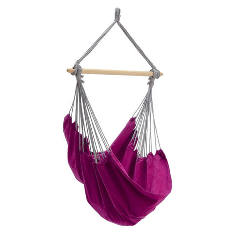 Amazonas Panama Berry Purple Hanging Chair - Ruby's Garden Boutique