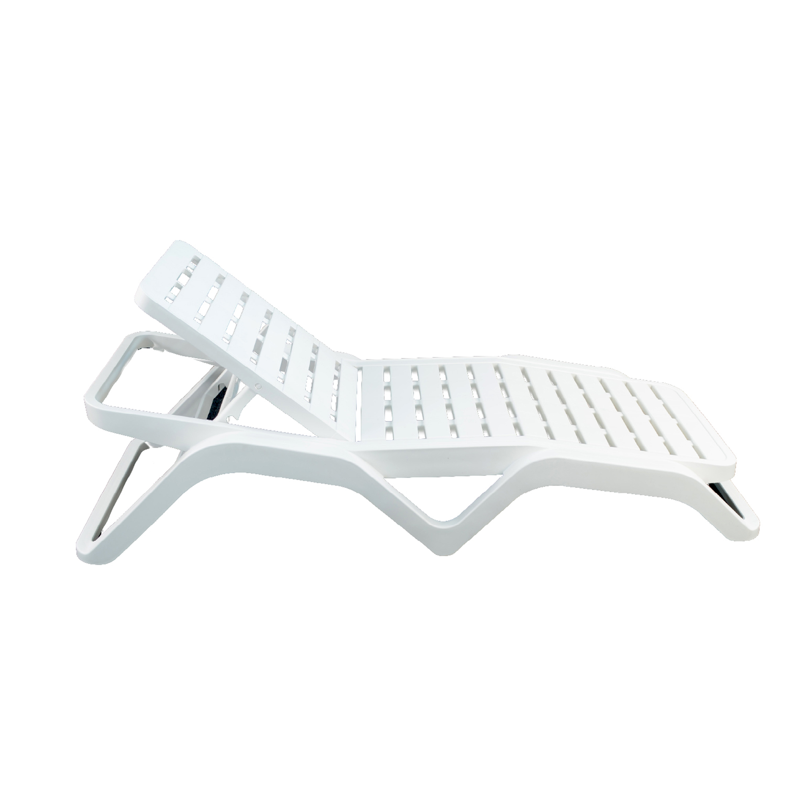 Trabella Scirocco Sun Lounger pack of 2 in White