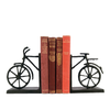 Image of Elur Bicycle Iron Book Ends 13cm in Mocha Brown - Ruby's Garden Boutique