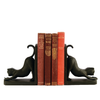 Image of Elur Cat Iron Book Ends 13cm in Mocha Brown - Ruby's Garden Boutique