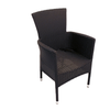 Image of Europa Leisure Stockholm Outdoor Chair Black Pack Of 2 - Ruby's Garden Boutique