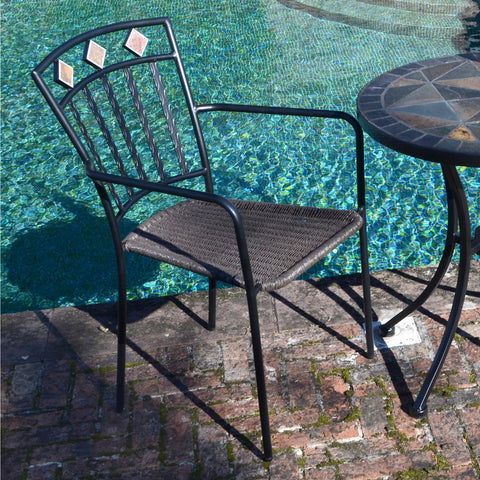 Europa Leisure Malaga Outdoor Chair Pack Of 2 - Ruby's Garden Boutique