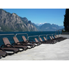 Image of Nardi Alfa Sun Lounger Coffee & Coffee - Ruby's Garden Boutique