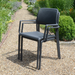 Nardi Bora Chair Anthracite Pack of 2 - Ruby's Garden Boutique