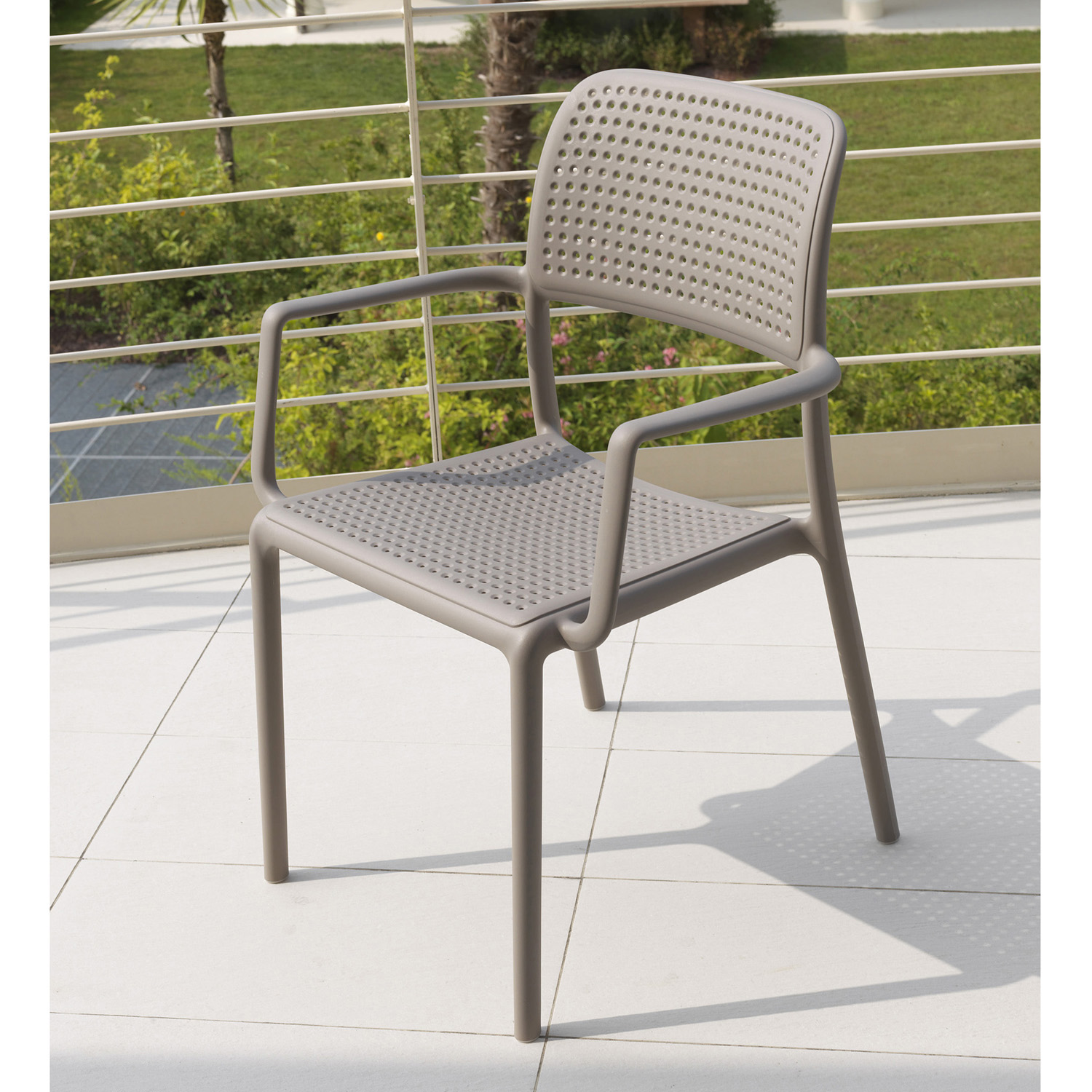 Nardi Bora Chair Turtle Dove Pack of 2 - Ruby's Garden Boutique