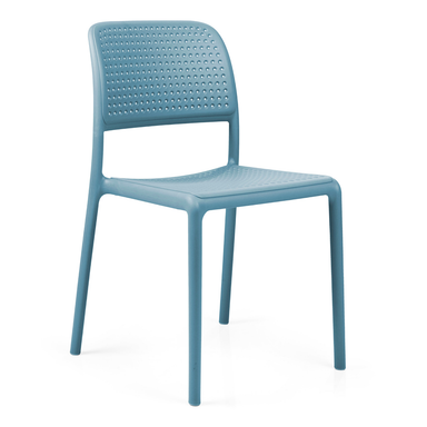 Nardi Bistrot Chair Sky Blue Pack Of 2 - Ruby's Garden Boutique